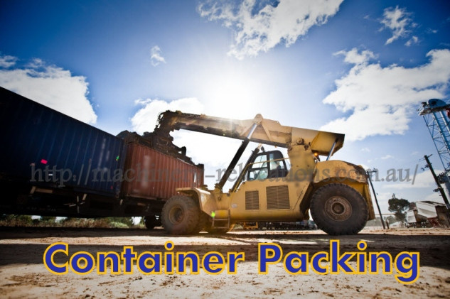 container packing Australia